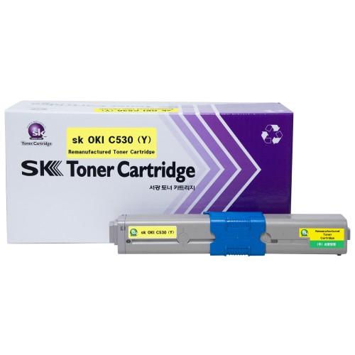 sk OKI C530 (노랑)